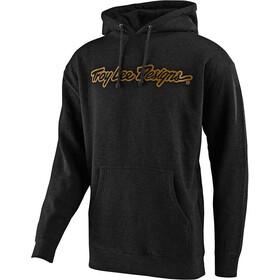 Troy Lee Designs Signature Pullover, negro